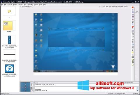 لقطة شاشة ScreenShot لنظام التشغيل Windows 8
