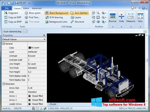 لقطة شاشة ABViewer لنظام التشغيل Windows 8