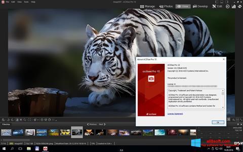 لقطة شاشة ACDSee Pro لنظام التشغيل Windows 8