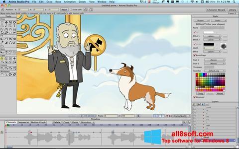 لقطة شاشة Anime Studio لنظام التشغيل Windows 8