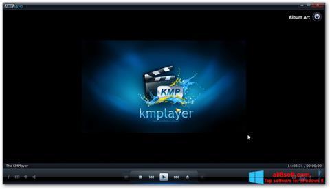 لقطة شاشة KMPlayer لنظام التشغيل Windows 8