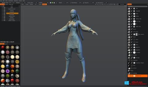 لقطة شاشة 3D-Coat لنظام التشغيل Windows 8
