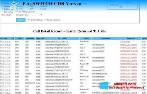 لقطة شاشة CDR Viewer لنظام التشغيل Windows 8