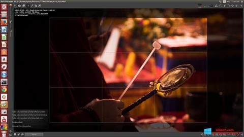 لقطة شاشة RawTherapee لنظام التشغيل Windows 8