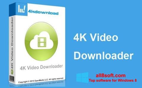 لقطة شاشة 4K Video Downloader لنظام التشغيل Windows 8