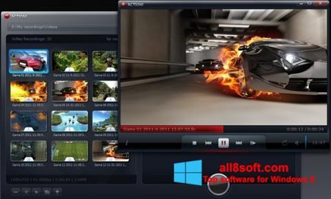 لقطة شاشة Action! لنظام التشغيل Windows 8