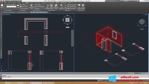 لقطة شاشة AutoCAD Architecture لنظام التشغيل Windows 8