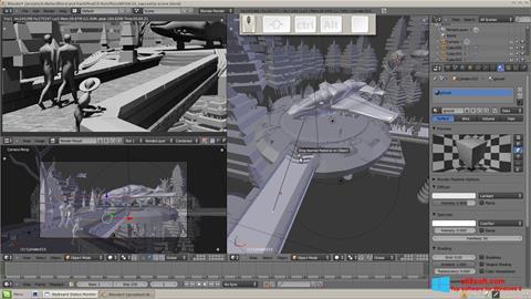 لقطة شاشة Blender لنظام التشغيل Windows 8