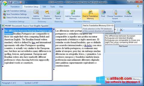 لقطة شاشة PROMT لنظام التشغيل Windows 8