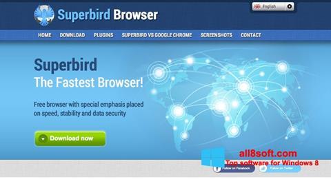 لقطة شاشة Superbird لنظام التشغيل Windows 8