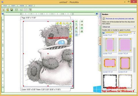 لقطة شاشة PhotoMix Collage لنظام التشغيل Windows 8