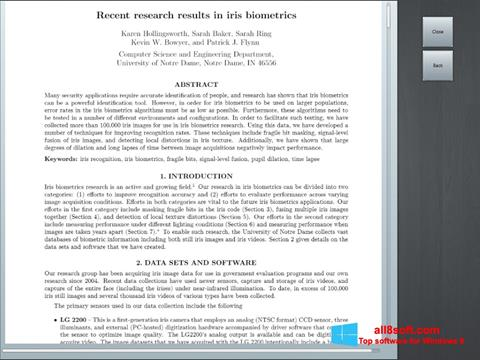 لقطة شاشة Doc Viewer لنظام التشغيل Windows 8