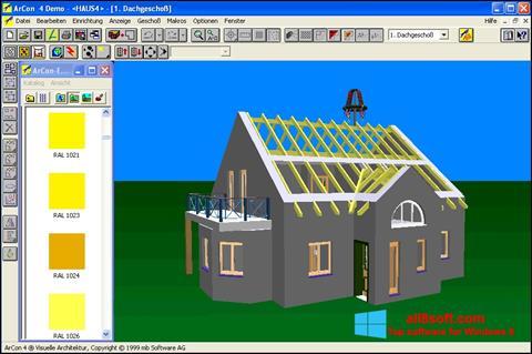 لقطة شاشة Arcon لنظام التشغيل Windows 8