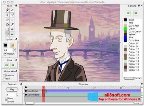 لقطة شاشة Pencil لنظام التشغيل Windows 8