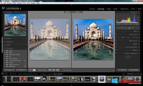 لقطة شاشة Adobe Photoshop Lightroom لنظام التشغيل Windows 8