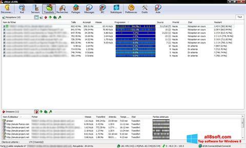 لقطة شاشة eMule لنظام التشغيل Windows 8