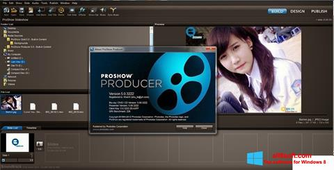 لقطة شاشة ProShow Producer لنظام التشغيل Windows 8