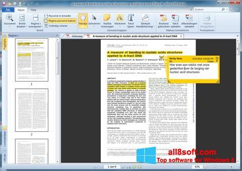 لقطة شاشة Nitro PDF Reader لنظام التشغيل Windows 8