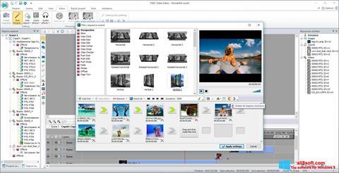 لقطة شاشة Free Video Editor لنظام التشغيل Windows 8