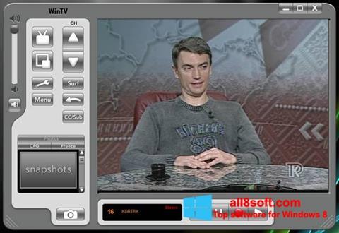 لقطة شاشة Behold TV لنظام التشغيل Windows 8