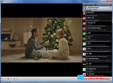 لقطة شاشة IP-TV Player لنظام التشغيل Windows 8