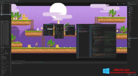 لقطة شاشة Game Maker لنظام التشغيل Windows 8