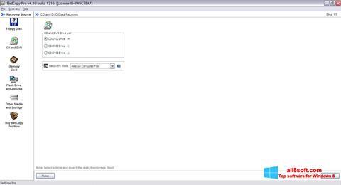 لقطة شاشة BadCopy Pro لنظام التشغيل Windows 8
